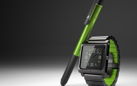 LunaTik Multi-Touch Watch And Pen