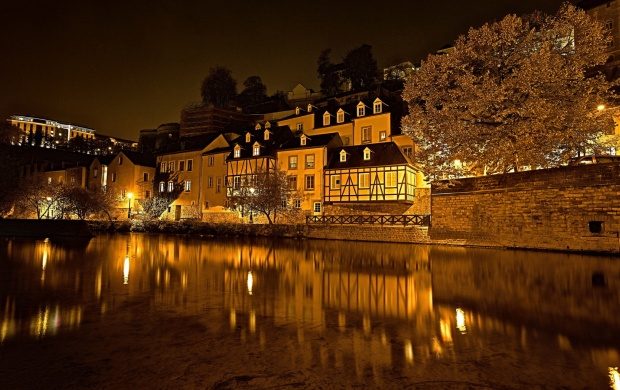 Luxembourg At Night (click to view)