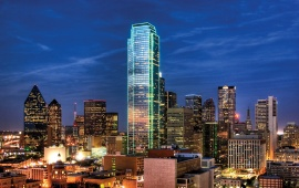 Luxury Dallas City USA