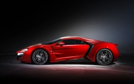 Lykan Hypersport Supercar