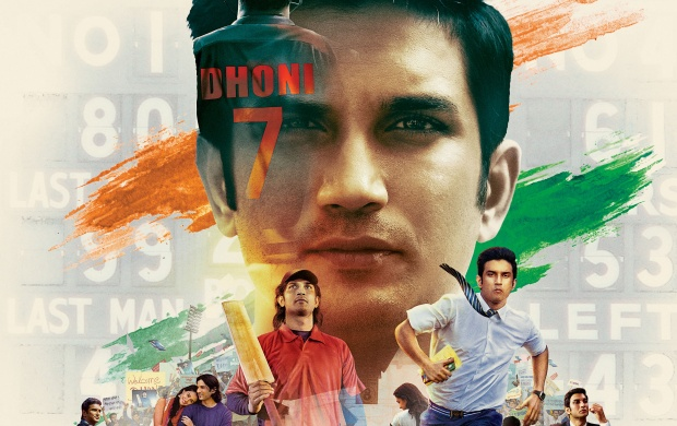 M S Dhoni The Untold Story 2016 Poster Wallpapers