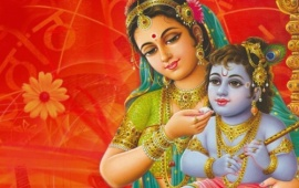 Maa Yashoda And Krishna
