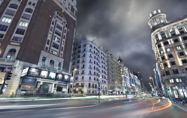 Madrid City Light (click to view)