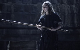 Maisie Williams Game Of Thrones Season 6 Oathbreaker