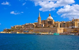 Malta Coast Sea Mellieha Cities