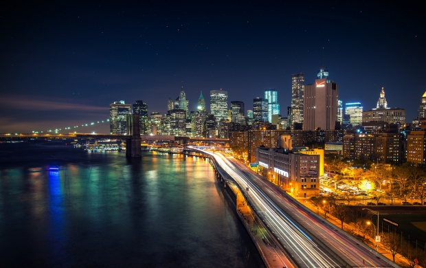 Manhattan City at Night (click to view)