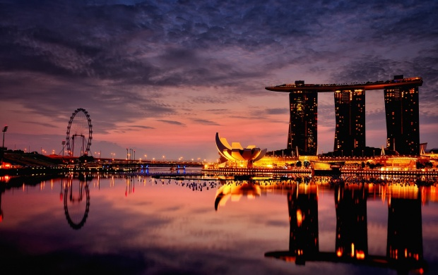 Marina Bay Sands Hotel Singapore (click to view)