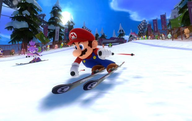 Mario Olympic Winter Games (click to view)