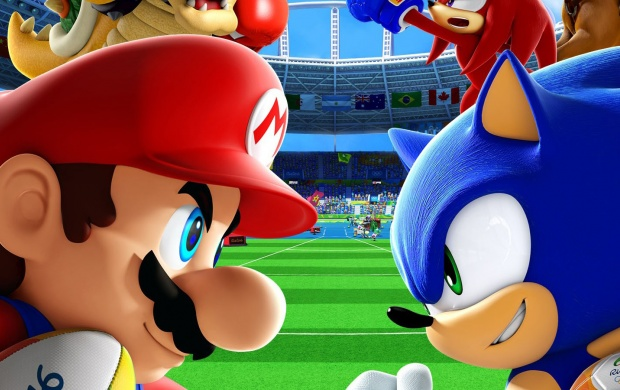 Mario Sonic At the Rio 2016 Olympic Games (click to view)