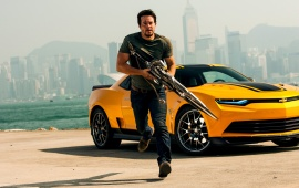 Mark Wahlberg In Transformers Age Of Extinction 2014