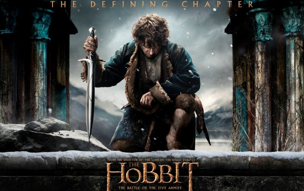Martin Freeman In The Hobbit: The Battle Of The Five Armies (click to view)