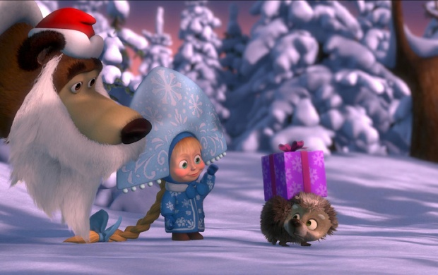 Masha And The Bear Winter (click to view)