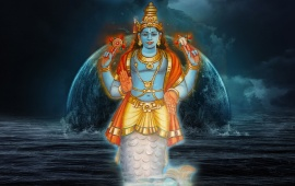 Matsya Avatar Of Lord Vishnu