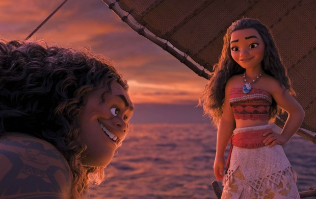 Maui And Moana (click to view)