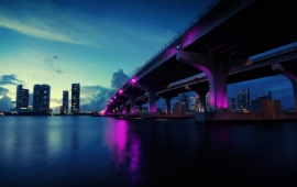Mcarthurs Bridge Miami