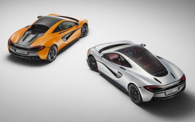 McLaren 570GT White And Orange Car 2017 (click to view)