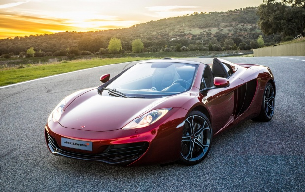 McLaren MP4-12C Spider (click to view)