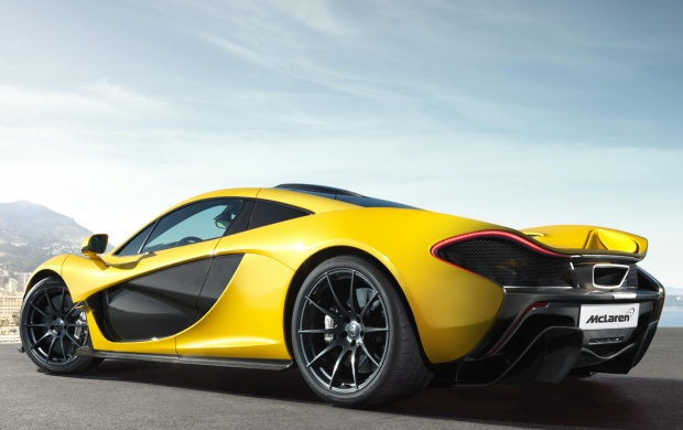 Mclaren P1 Side View 2014 (click to view)
