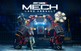 Mech Land Assault Just Cause 3