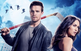Megan Fox And Stephen Amell TMNT Out Of The Shadows