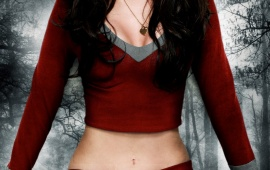 Megan Fox With Red Blood