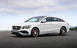 Mercedes-AMG CLA 45 Shooting Brake 2016