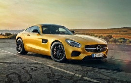 Mercedes Amg Gt Front Profile 2016