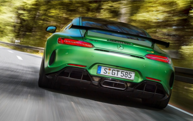 Mercedes-AMG GT R Concept Rear 2018 (click to view)