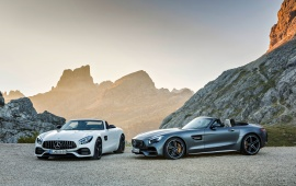 Mercedes-AMG GT Roadster And Mercedes-AMG GT C Roadster 2018