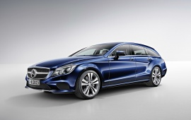 Mercedes-Benz CLS 400 BlueTec Shooting Brake 2014