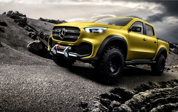 Mercedes-Benz Concept X-Class Powerful Adventurer 2016 (click to view)