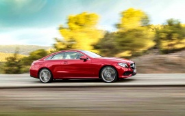 Mercedes Benz E Class Coupe Side 2018