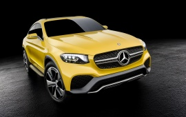 Mercedes-Benz GLC Coupe Concept 2015