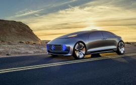 Mercedes-Benz Luxury F015 2015