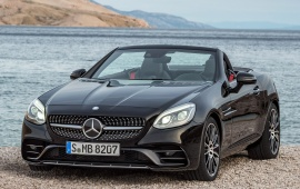 Mercedes-Benz SLC43 AMG Car