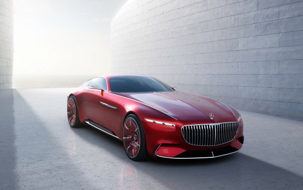 Mercedes-Benz Vision Maybach 6 Concept Front View (click to view)
