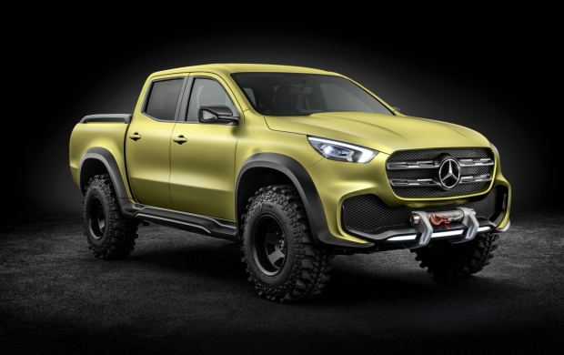 Mercedes-Benz X-Class Pck-up Concept (click to view)