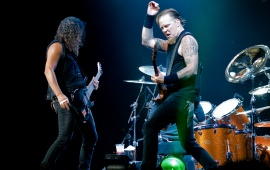 Metallica James And Kirk