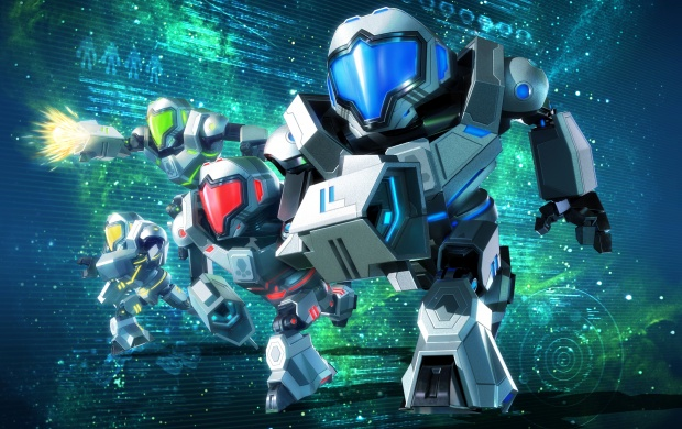 Metroid Prime Federation Force 2016 (click to view)