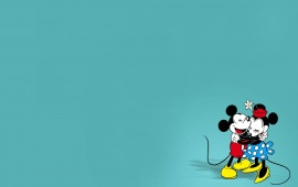 Mickey And Minnie Mouse Cartoon