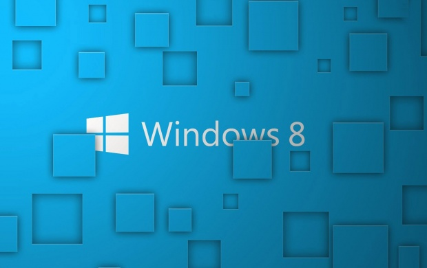 Microsoft Windows 8 Blue Theme (click to view)