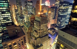 Midtown Manhattan At Night