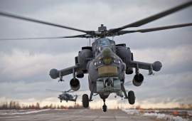 Mil Mi-28 Helicopter