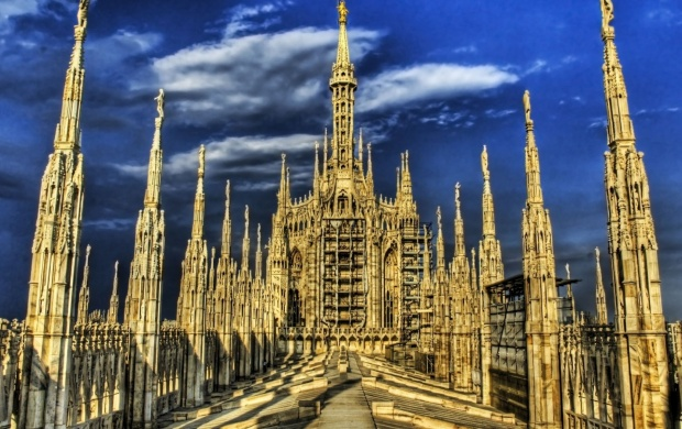 Milan Cathedral (click to view)