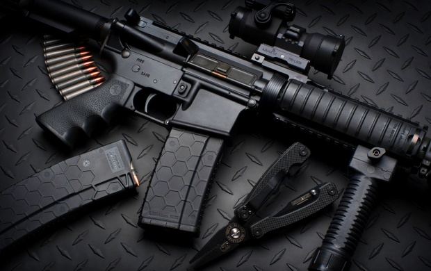 Military Assault Rifle (click to view)