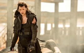 Milla Jovovich In Resident Evil The Final Chapter 2016