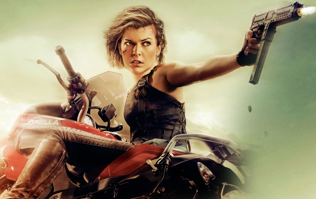Milla jovovich resident evil final chapter 4k wallpapers - Resident evil final chapter 4k ...