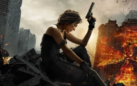 Milla Jovovich Resident Evil The Final Chapter 2016
