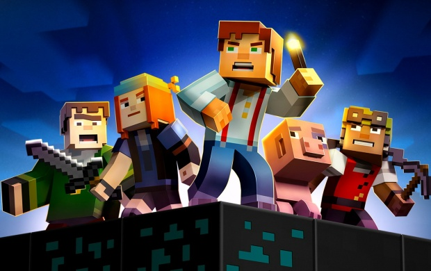 Minecraft Story Mode 2015 Wallpapers