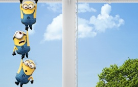 Minions In Despicable Me 2
